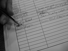 1555 Signing in my Camera (Beppie K) Tags: dilosept05 signingin register bw dilosept05bw dilosep05 dilo beppiestag penpencilbrushink