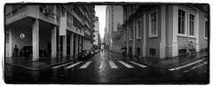 POAramic (Andr Rabelo) Tags: bw panoramic outside widelux