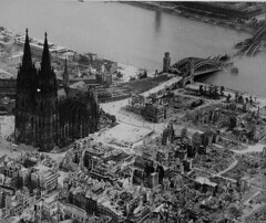 Cologne Cathedral 1945 - by gordonr