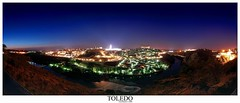Toledo panormica 4 fotos (Fran Barrero (venus-photo)) Tags: espaa night spain been1of100 eps1 eps2 toledo nocturna franbarrero eps3 eps4 eps5 eps6 espaayportugalseleccin nk24120vr
