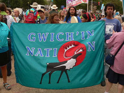 2005 9-24 peacemarch Gwich'in Nation
