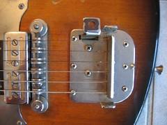 Weird 1960s guitar