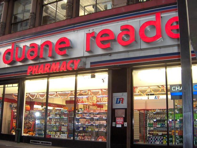 what is it about Duane Reade?