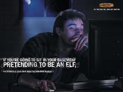 poster en contra de los MMORPGs