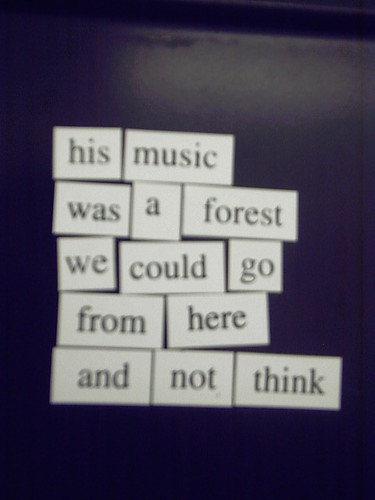 Magnetic Poetry #5