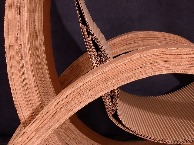 Laminated Catenary Cardboard Chair