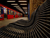 I need perspective (Rune T) Tags: perspective composition subway red metal bench waiting wow 100v10f topf25 topv333