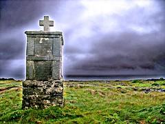 Inishmore Cross (code poet) Tags: ireland galway topf25 beautiful topv111 topv2222 topv555 topv333 cross topv1111 topv999 100v10f topv777 topv3333 aran isles inishmore
