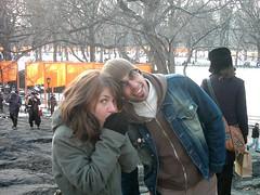 nyc_009 (madmaharaja) Tags: centralpark christo newyork gates orange gatesmemory art saffron newyorkcity nyc travel usa winter