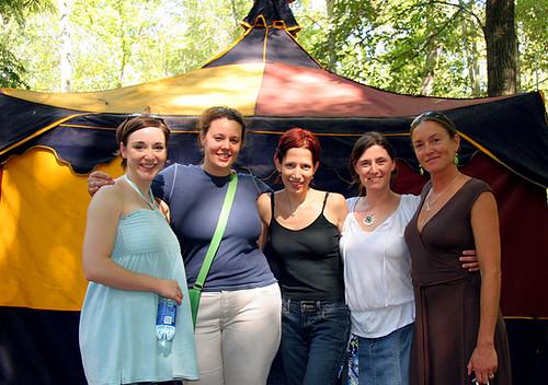 Renaissance Festival Girls