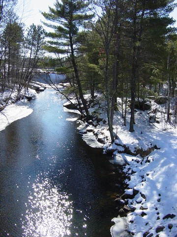 Wisconsin Winter Rivers