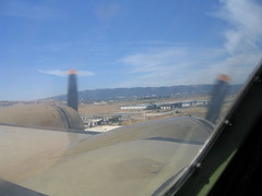 B17 landing (Brave Heart) Tags: 2005 ca aircraft aviation landing b17 ww2 livermore bomber props livermoreca boeingb17 livermoreairport onfinal b17landing