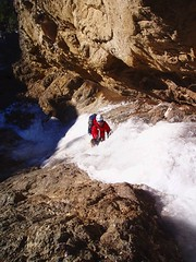 energizer (Dru!) Tags: cold ice frozen waterfall bc britishcolumbia steve climbing solo energizer iceclimbing thompsonriver soloing stemalot goldpanprovincialpark