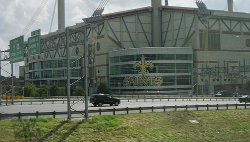 Alamodome: the Saints temporary home