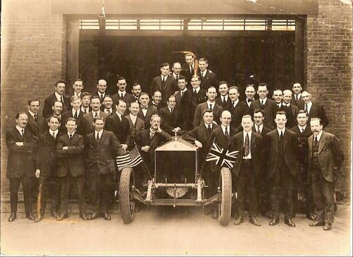 hl robinson rolls royce spfld 1920