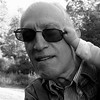 Uncle Arnie (.brian) Tags: sunglasses man portrait funny bw