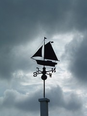 Weather vane (kanngard) Tags: cloud boat ship sweden stockholm sail weathervane dalar sdermanland