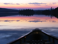 Peacefulness* (Imapix) Tags: voyage travel sunset sky sun lake canada reflection art nature topf25 colors clouds canon photography photo bravo colorful foto photographie natural image quebec topc50 tranquility canoe qubec serenity favourites favs peacefulness calmness paddles imapix heartsease mastigouche quietude lacdelaferme topfavpix gatangbourque gatanbourque copyright2006gatanbourqueallrightsreserved  copyright2006gatanbourqueallrightsreserved gaetanbourque imapixphotography gatanbourquephotography