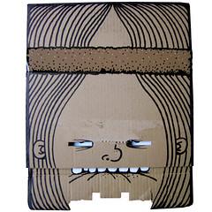 professor longhair (burns124) Tags: cardboard tennis bjrn borg hippie headband longhair