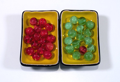 Red and Green Marbles