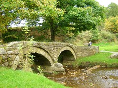 Pack-horse bridge Wycolller