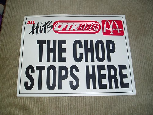 The Chop Stops Here