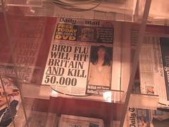 Scaremongering (jaimelondonboy) Tags: london fear birdflu avianflu dailymail scaremongering themail