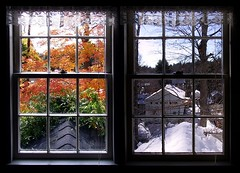 Fall & Winter - Autunno/Inverno (janchan) Tags: autumn winter fall window colors seasons berkshires sfidephotoamatoriwinner