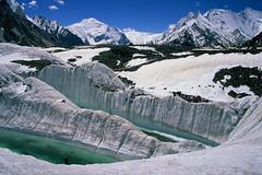 Velvia50-32 (Kelly Cheng) Tags: pakistan mountain glacier velvia concordia getty trekday8concordia goldenthrone chogolisa gettysale pickbykc gi1002 89996356 gi1012 gi1106