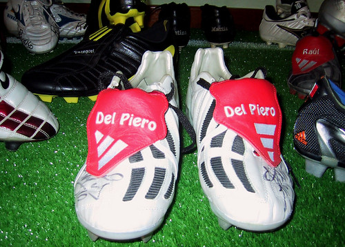 soccer shoes alex alessadnro del piero football calcio