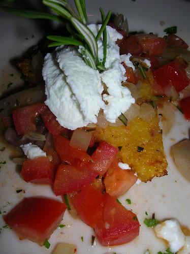 polenta at Cafe Flora