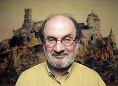 Salman Rushdie (Christofer C. Dierdorff) Tags: salman rushdie india moslem author writer islam satanic verses khomeini fatwa portrait man men chris dierdorff christofer c male males color portraits people faces celebrity celebrities book books fineart