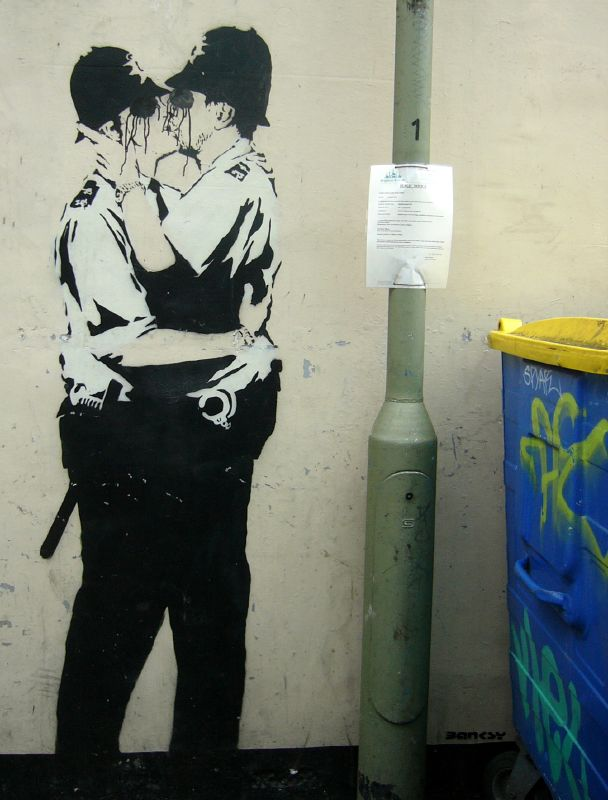 Banksy - England - The Beauty of Stencil Art