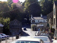 Street leaving Pately Bridge (JuanJ) Tags: new travel bridge family wedding friends party vacation england favorite art beach me apple nature photoshop macintosh photo interestingness amazing mac friend flickr cs2 unitedkingdom yorkshire north picture explore eruope photograph fav favs northyorkshire patelybridge