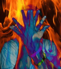 Myhandsonfire (Natashalatrasha) Tags: family blue friends red favorite orange art me freeassociation yellow tag3 taggedout digital fire hands tag2 tag1 hand creative surreal jazz fave bleu freak artists mementomori cuerpos dela creating letsplaytag 1111 shocking fifty fireaway qatsi2 supercolored barbarabackyard