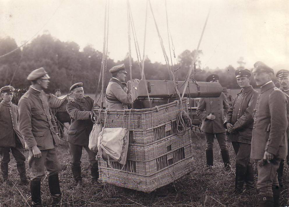 WWI photos taken from air. German camera.