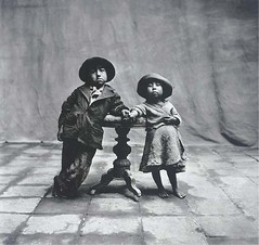 Irving Penn - Cuzco Children, Peru, 1948 (Foxtongue) Tags: kids vintage children child 1940s american irvingpenn cuzcochildren