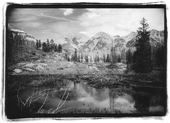 Reflections (Hayden Yates) Tags: lake mountains durango colorado reflection solitude