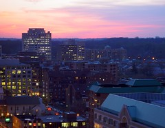 Ballston Sunset (Michael from NYC) Tags: ballston virginia arlington washingtondc dc sunset f707