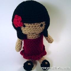 latina ramona 2 (Roxycraft) Tags: amigurumi softies plush mos crochet handmade