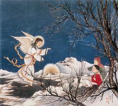 hark the herald (Olaer / Elmer Anthony) Tags: china art painting joseph catholic child christ madonna mary jesus chinese christian holy virgin virginmary olaer