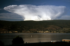 Storm Anvil (storm light) Tags: cloud storm britishcolumbia okanagan anvil thunderhead cumulonimbus interestingness169 i500