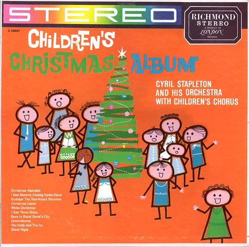 Children's Christmas Album-Front (by orb1234)
