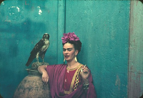 Frida Kahlo Blue Bird