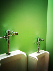 Wall Flowers (mhusson) Tags: green bathroom lomo jade urinal urinals emerald porcelain chineserestaurant pisser paired