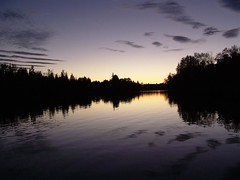 Last Light (Mark Veitch) Tags: sunset evening water trees light reflection purple yellow black fall river ontario sky canada tag1 tag2 tag3 taggedout topv111 pick10