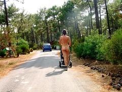 """Nature Park 2615 (Anselm11) Tags: naked nature love peace """"love peace"""" euronat walking elegant"""