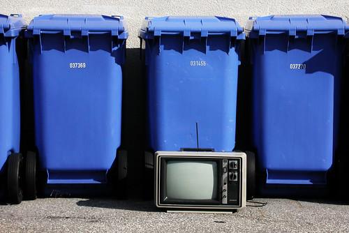 television garbage