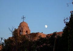 Moon over the monastery (phool 4  XC) Tags: lebanon sunlight moon christian monastery orthodox balamand orthodoxchristian لبنان antiochian weareallthesame بيتربروباخر phool4xc
