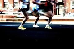 Sycronized marathoning (.brian) Tags: running nycmarathon shoes legs feet motion blur marathon race brooklyn 4thave topv111 1025fav